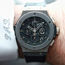 Hublot Tungsten Automatic 44.5mm pre-owned Big Bang Aero Bang
