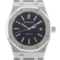 Audemars Piguet Royal Oak Selfwinding Steel 39mm Black No numerals