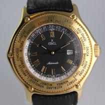 Ebel Sarı altın 38mm Otomatik 8124913 ikinci el