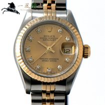 Rolex Lady-Datejust Gold/Steel 26mm Champagne United States of America, California, Los Angeles