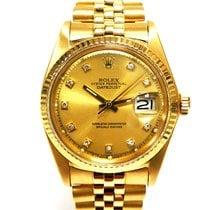 Rolex 1601 Yellow gold 1977 Datejust 36mm pre-owned United Kingdom, Essex