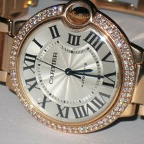 Cartier Rose gold Ballon Bleu 36mm 36mm pre-owned