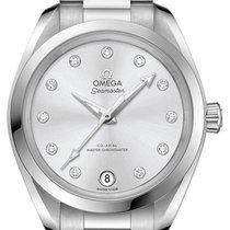 Omega Seamaster Aqua Terra Acero 34mm Plata