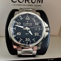 Corum Admiral's Cup GMT 44 Steel 44mm Black