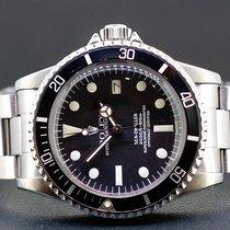 Rolex Sea-Dweller gebraucht 40mm Schwarz Datum Stahl