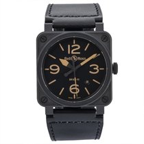 Bell & Ross BR 03-92 Ceramic BR03-92-CBL 2016 pre-owned