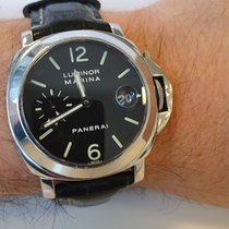 Panerai Luminor Marina Automatic Acier 40mm Noir Arabes France, Paris