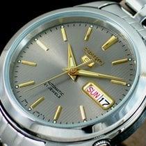 Seiko 5 Steel 38mm No numerals Singapore, SINGAPORE