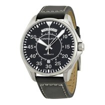 Hamilton Khaki Pilot Day Date new Automatic Watch with original box and original papers H64615735