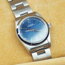 Rolex Oyster Perpetual 31 Stahl 31mm Blau Arabisch Deutschland, Grünwald