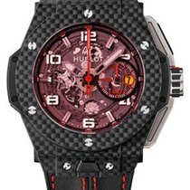 Hublot Big Bang Ferrari Carbon 45mm Transparent Arabic numerals United States of America, Texas, Laredo