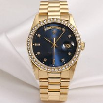 Rolex Day-Date 18348 18K Yellow Gold Diamond