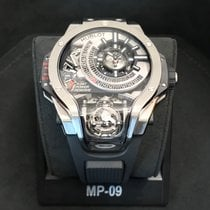 恒寶 (Hublot) MP-09 Tourbillon Bi-Axis Titanium Limited 50 Pcs.