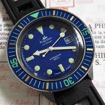 Philip Watch caribbean 1500 blu rare diver vintage 42mm