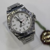 Rolex Explorer II  16570 Stainless Steel Automatic  White Dial