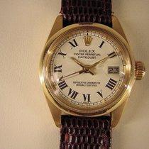 Rolex Lady-Datejust gebraucht 25mm Gelbgold