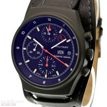 Orfina Chronograph 41mm Automatic 1990 pre-owned Black