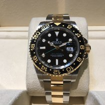 Rolex GMT-Master II Steel and Gold B&P