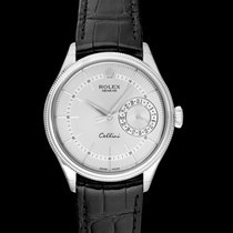 Rolex Cellini Date White gold 39mm Silver United States of America, California, San Mateo