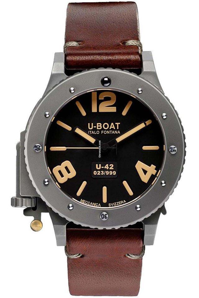 06f5b00a4ef U-Boat U-42 - Todos os preços de relógios U-Boat U-42 na Chrono24
