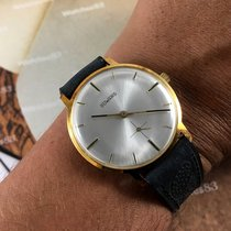 Duward NOS  vintage swiss hand winding watch 17 rubis Plaqué...