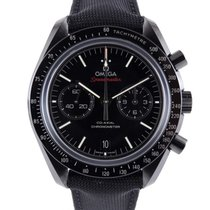 Omega Chronographe 44mm Remontage automatique 2014 Speedmaster Professional Moonwatch Noir