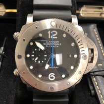 Panerai Tantalum Automatic Black 47mmmm pre-owned Luminor Submersible 1950 3 Days Automatic