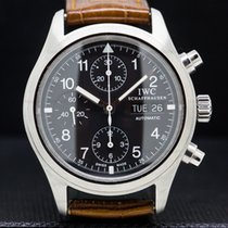 IWC Pilot Chronograph Steel 39mm Black Arabic numerals United States of America, Massachusetts, Boston