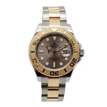 Rolex Yacht-Master 40 Gold/Steel 40mm Grey