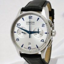 Union Glashütte Staal 42mm Automatisch D001.414 A tweedehands
