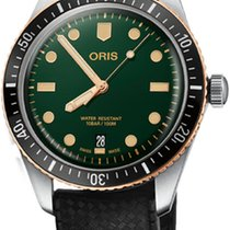 Oris Divers Sixty Five Steel 40mm Green United States of America, New York, Airmont