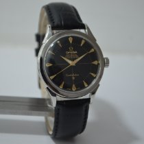 Omega Constellation Steel 35mm Black No numerals India, MUMBAI