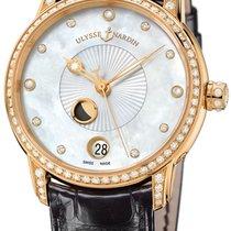 Ulysse Nardin Classico Luna Rose gold 35mm Mother of pearl