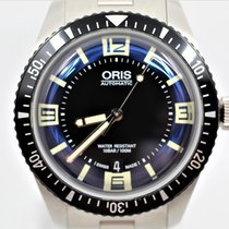 Oris Steel Automatic Blue Arabic numerals 40mm new Divers Sixty Five