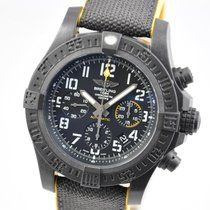 Breitling Automatic Black Arabic numerals 45mm new Avenger Hurricane