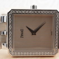Piaget Protocole White gold 25mm Silver