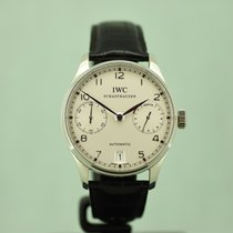 IWC Portuguese Automatic IW500104 Very good Platinum 42mm Automatic