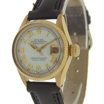 Rolex Oyster Perpetual Lady Date 6517 Good Yellow gold 25mm Automatic United States of America, Florida, Miami