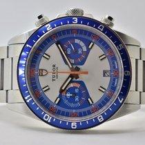 Tudor Heritage Chrono Blue 70330B 2014 подержанные