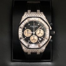 Audemars Piguet Royal Oak Offshore Lady Witgoud Blauw