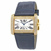 Cartier Tank Divan Yellow gold 38mm Silver