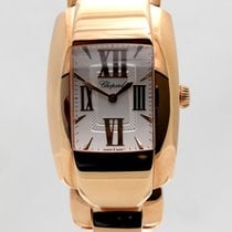 Chopard Red gold Quartz Silver 44.8mm new La Strada