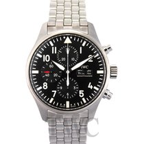 IWC Pilot's Watch Chronograph Black/Steel 2016 - IW377710