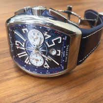 Franck Muller Vanguard Yachting Chronograph  steel