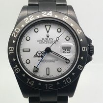 Rolex Explorer II BLACK PVD WHITE DIAL