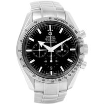 Omega Speedmaster Broad Arrow Chronograph Watch 3551.50.00 Box...