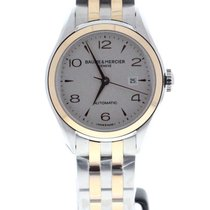 Baume & Mercier - Clifton Two Tone Ladies Watch - M0A10152...