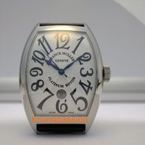 Franck Muller Cintrée Curvex Steel 39.6mm White Arabic numerals United States of America, Florida, Boca Raton