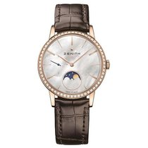Zenith Elite Ultra Thin Rose gold 36mm Mother of pearl United States of America, Pennsylvania, Holland