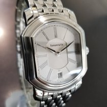 Tiffany & Co Mens Large Resonator Swiss Made c2000 Stainless...